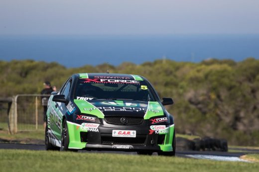 Island Voodoo for the Oaklands/ XFORCE V8 UTE at Phillip Island