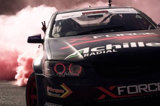VIDEO: XFORCE VE Drift Ute Barbagallo Raceway Demo