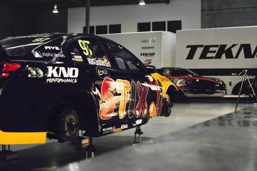 How a V8 Supercar is built